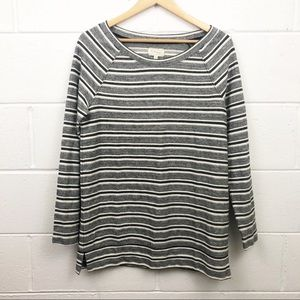 NWT Lou & Grey Striped Maternity Long Sleeve Top